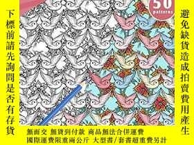 二手書博民逛書店Patterns罕見to Color: Tatto Patterns Pattern Coloring Pages