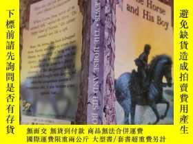 二手書博民逛書店the罕見horse and his boy 馬和他的兒子.Y200392