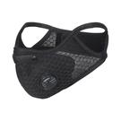 新款掛耳式純色網格透氣騎行面罩夏天防風防塵防霾騎行口罩過濾內膽戶外騎行用品
