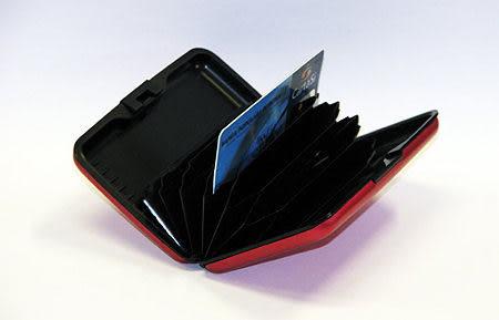 398001.{鋁金屬名片盒}鋁製金屬提款卡.信用卡包.卡包.名片盒.錢包.金屬錢包