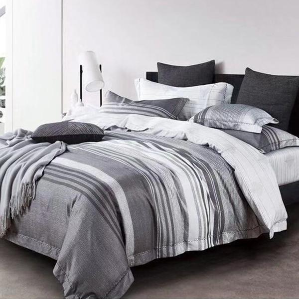 床包 / 雙人【紳士品味】含兩件枕套  3M頂級天絲  吸濕排汗專利  戀家小舖台灣製