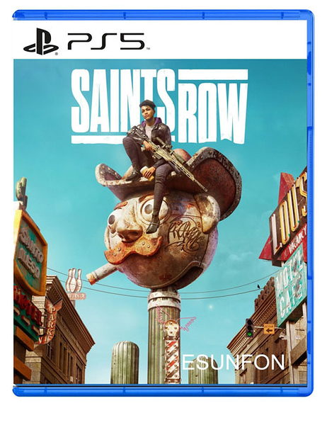 PS5 黑街聖徒 Saints Row Reboot 重啟版 中文版【預購2022/2/25】