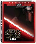 【停看聽音響唱片】【BD】Star Wars:原力覺醒 3D+2D 限量鐵盒3碟版