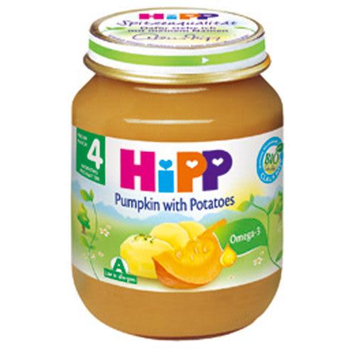 【奇買親子購物網】HiPP喜寶有機寶寶南瓜馬鈴薯泥/1入