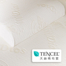 【迪奧斯】超柔觸感天絲防霉抗菌枕頭套 - 天然乳膠枕頭夢享專用