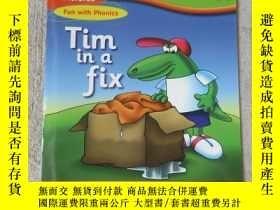 二手書博民逛書店Tim罕見in a fix(Words and Pictures