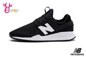 New Balance 247 成人女款 運動鞋 韓星孔孝真同款 慢跑鞋 O8502#黑色◆OSOME奧森鞋業
