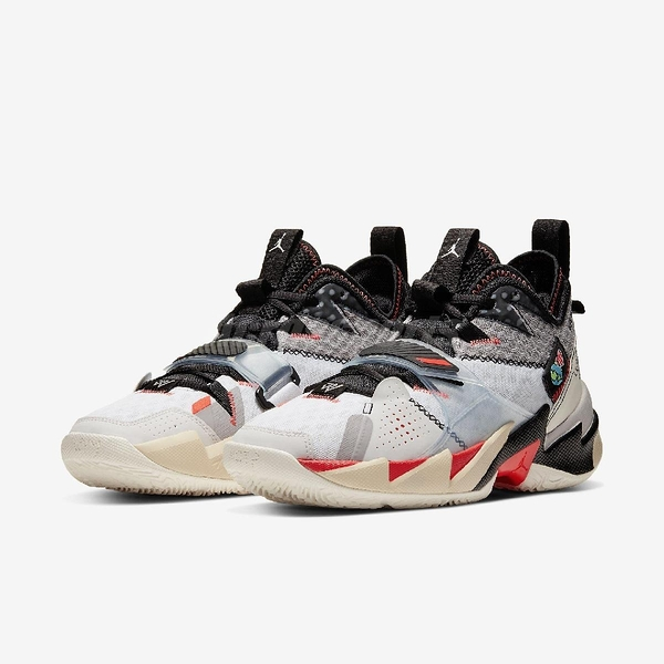 Nike Jordan Why Not Zer0.3 PF Unite 白 紅 男鞋 籃球鞋 喬丹 Russell Westbrook 【PUMP306】 CD3002-101
