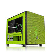 Thermaltake 曜越 Core X5 Riing 平躺式 ATX 電腦機殼 綠化版