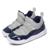 Nike Jordan 11 Retro Little Flex PS 灰 藍 童鞋 中童鞋 喬丹 休閒鞋 【PUMP306】 BQ7101-007