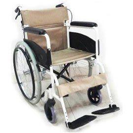 輪椅 鋁合金 單層坐背墊 可折背FK18-S