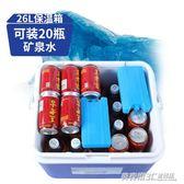 保溫箱家用車載戶外冰箱便攜保冷保鮮釣魚冰桶食品冷藏箱ATF  英賽爾