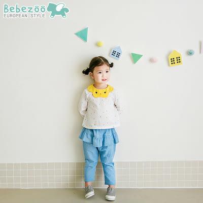 [bebezoo]韓國童裝可愛女寶寶童套裝時尚外出服兩件套褲套裝- 預購