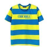 『小鱷魚童裝』亮彩條紋上衣(08號~18號)555412