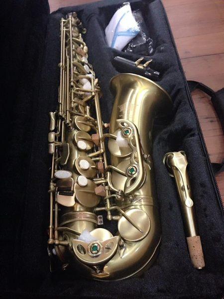 凱傑樂器  薩克斯風 KJ VI NING CUSTOM  ALTO 中音 復青銅色 亮面漆
