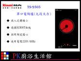 ❤PK廚浴生活館 ❤高雄莊頭北 TS-9505 單口電陶爐 ☆ 九段火力