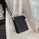 手機包女斜背迷你小包包2021新款洋氣百搭時尚菱格豎款手機零錢袋 黛尼時尚精品