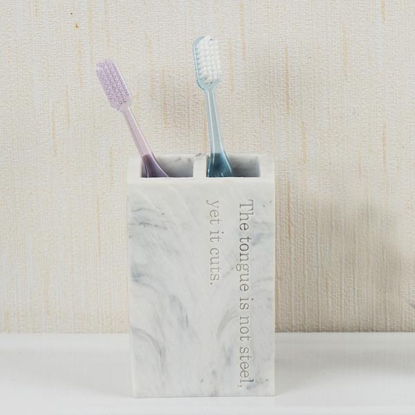 【微解封倒數9折】Marble石紋牙刷架-生活工場