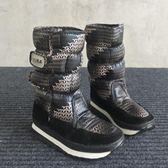 雪地鞋 防水防滑加絨平底短靴