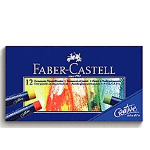 Faber-Castell創意工坊油性粉彩條 12色 *127012