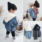 牛仔外套 新款童裝男女童日韓牛仔外套小童兒童寶寶連帽夾克上衣潮 童趣潮品