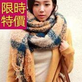 羊毛圍巾-針織俐落氣質保暖防寒男女圍脖3色61y69[巴黎精品]