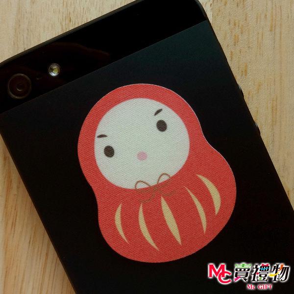 Mc賣禮物-MIT手機螢幕擦拭貼經典尺寸(1片)-不倒翁【W22010】