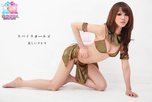 【愛愛雲端】體驗神秘!六件式 古埃及 侍女服 角色扮演 R8NA07030100