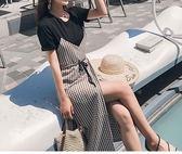 FINDSENSE H1 2018 夏季 新款 chili 優雅 千鳥格  舒適