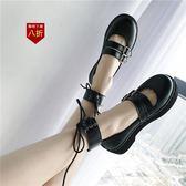 小皮鞋娃娃鞋原宿風小皮鞋女新款英倫鞋子女韓版學生 ulzzang軟妹平底單鞋  凱斯盾數位3C