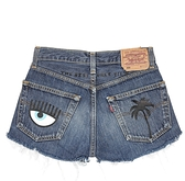 【CHIARA FERRAGNI】FLIRTING牛仔短褲