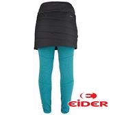 【法國EiDER】女 保暖透氣多功能裙 深沉黑 EIV3212