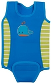 mothercare 小鯨魚游泳保暖衣3~6個月-藍(M2B602000)