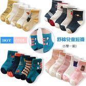 恐龍 太空 蘿蔔 小花 飛機 貓咪 英倫 毛圈短襪 (5雙一組)  橘魔法 Baby magic 現貨 男女童 襪子