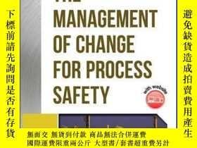 二手書博民逛書店Guidelines罕見for the Management of Change for Process Safe