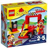 樂高積木LEGO duplo得寶系列 10843 迪士尼 米老鼠 米奇賽車手