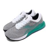 Reebok 訓練鞋 Nano 9 灰 綠 女鞋 運動鞋 CrossFit專用 【ACS】 EG1529