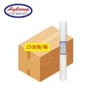 (25支入)Hydrosep高品質20英吋標準型細溝槽1微米PP纖維濾心 20吋 小胖