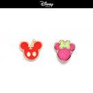 【迪士尼系列】水果系米奇米妮不對襯貼耳耳環~夏綠蒂didi-shop