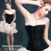 馬甲 拉夢爾蕾絲舞動塑身馬甲三色黑-束身、表演服_蜜桃洋房