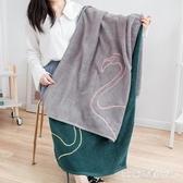 浴巾情侶款一對成人男女裹巾家用棉質吸水不掉毛大毛巾 LR21441『3C環球數位館』