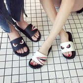 拖鞋男夏時尚外穿新款韓版沙灘涼拖情侶室外防滑一字拖涼鞋潮 至簡元素