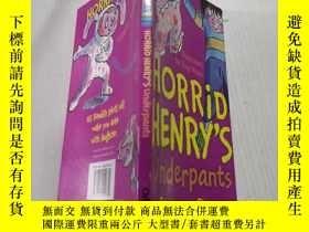 二手書博民逛書店Horrid罕見Henrys Underpants 可怕的亨利內褲.Y212829