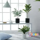 仿真花盆 INS北歐創意仿真植物裝飾客廳小盆栽擺件家居室內假綠植盆景 15色