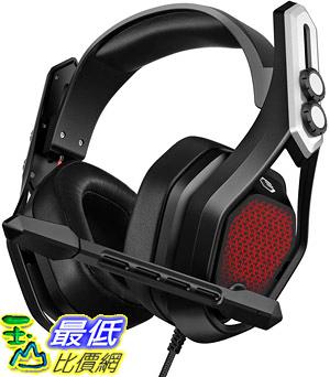 [8美國直購] 耳機 Mpow Iron Gaming Headset (Flagship Model), 7.1 Surround Sound with 50mm