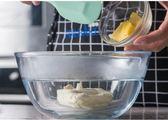 圓形玻璃打蛋盆 加深打蛋缸 耐高溫和面盆沙拉碗 烘焙工具【全館85折任搶】