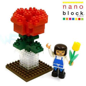 【日本KAWADA河田】Nanoblock迷你積木-十分感謝你 ML-030