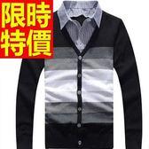 假兩件式襯衫 復古薄款-保暖精美長袖男毛衣3色59ac12【巴黎精品】