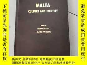 二手書博民逛書店malta:culture罕見and identity【大16開硬精裝英文原版】Y4953 henry fre