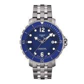 【僾瑪精品】TISSOT SEASTAR 1000高科技潛水運動機械腕錶(藍-45mm-T0664071104702)